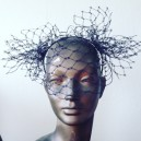 'Sprout' Vintage Veiling Headpiece